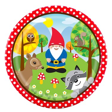 Woodland Gnome Dinner Plates