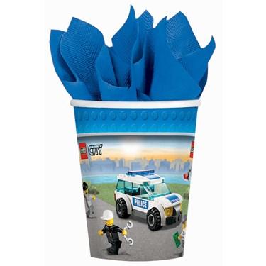 LEGO City 9 oz. Paper Cups