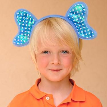 Blue Elephant Headband