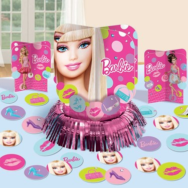 Barbie All Doll'd Up Table Decorating Kit
