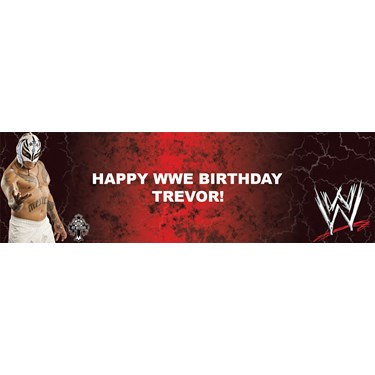 WWE - Rey Mysterio Personalized Banner