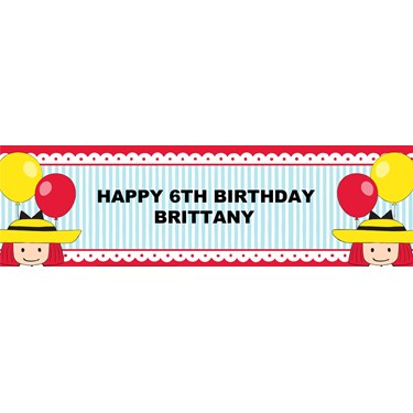 Madeline Personalized Banner