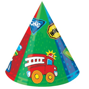 Truck Party Cone Hats
