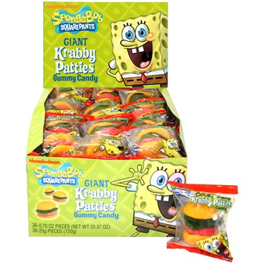 SpongeBob Squarepants Gummy Krabby Patties