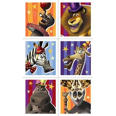 Madagascar 3 Sticker Sheets