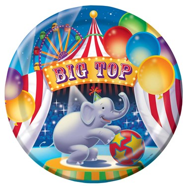 Big Top Dinner Plates