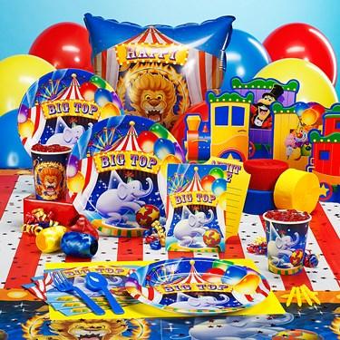 Big Top Party Supplies
