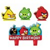 Angry Birds Molded Cake Candle Set