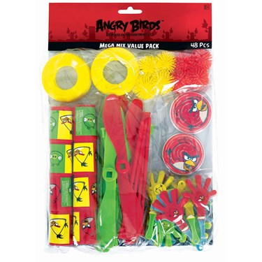 Angry Birds Party Favor Value Pack