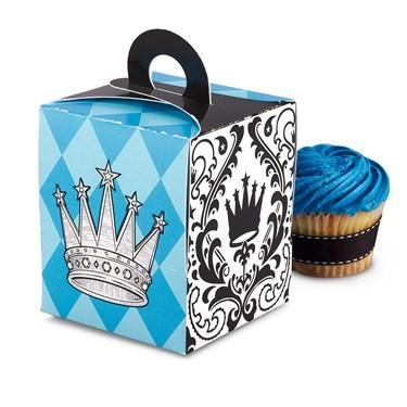 Elegant Prince Damask Cupcake Boxes