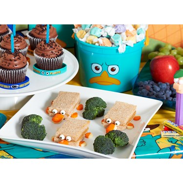 Disney Phineas and Ferb Agent P Party Packs