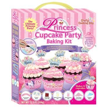 Princess Cupcake Party Baking Kit