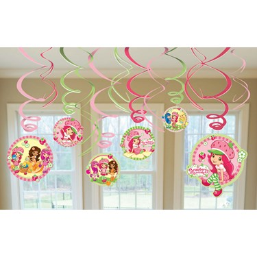 Strawberry Shortcake Hanging Swirl Value Pack