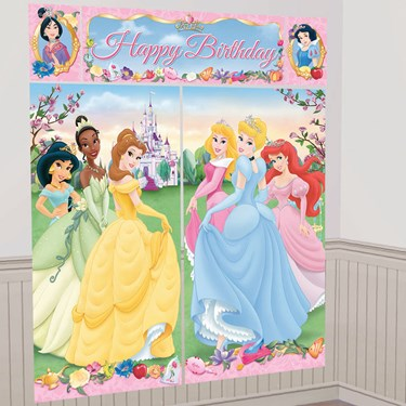 Disney Princess Scene Setter Decoration Set