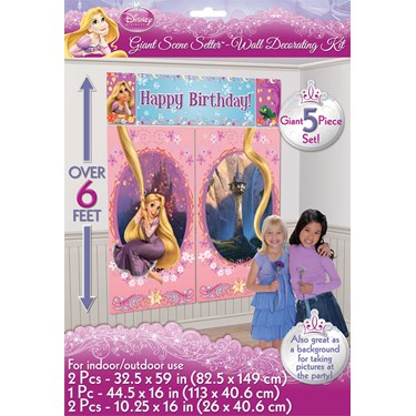 Disney Tangled Scene Setter Decoration Set