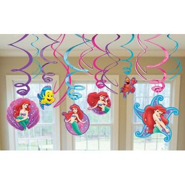 Disney The Little Mermaid Hanging Swirl Value Pack