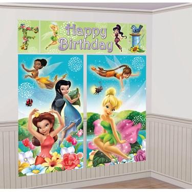 Disney Fairies Scene Setter Decoration Set