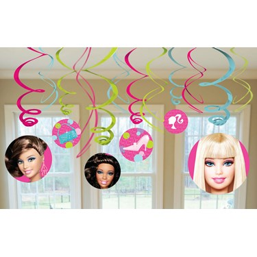 Barbie All Doll'd Up Hanging Swirl Value Pack