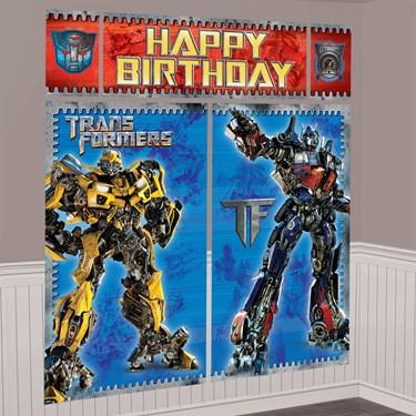 Transformers 3 Scene Setter Decoration Set