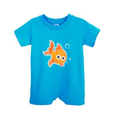 Goldfish Romper