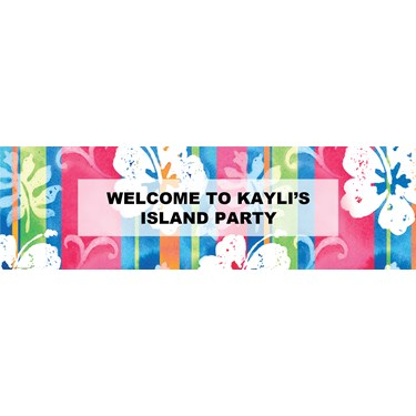 Bahama Breeze Personalized Banner