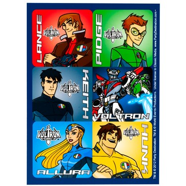 Voltron Force Sticker Sheets