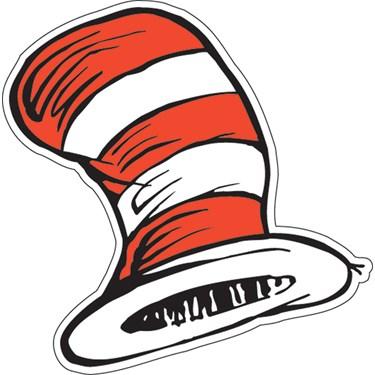 Dr. Seuss The Cat's Hat Cutouts