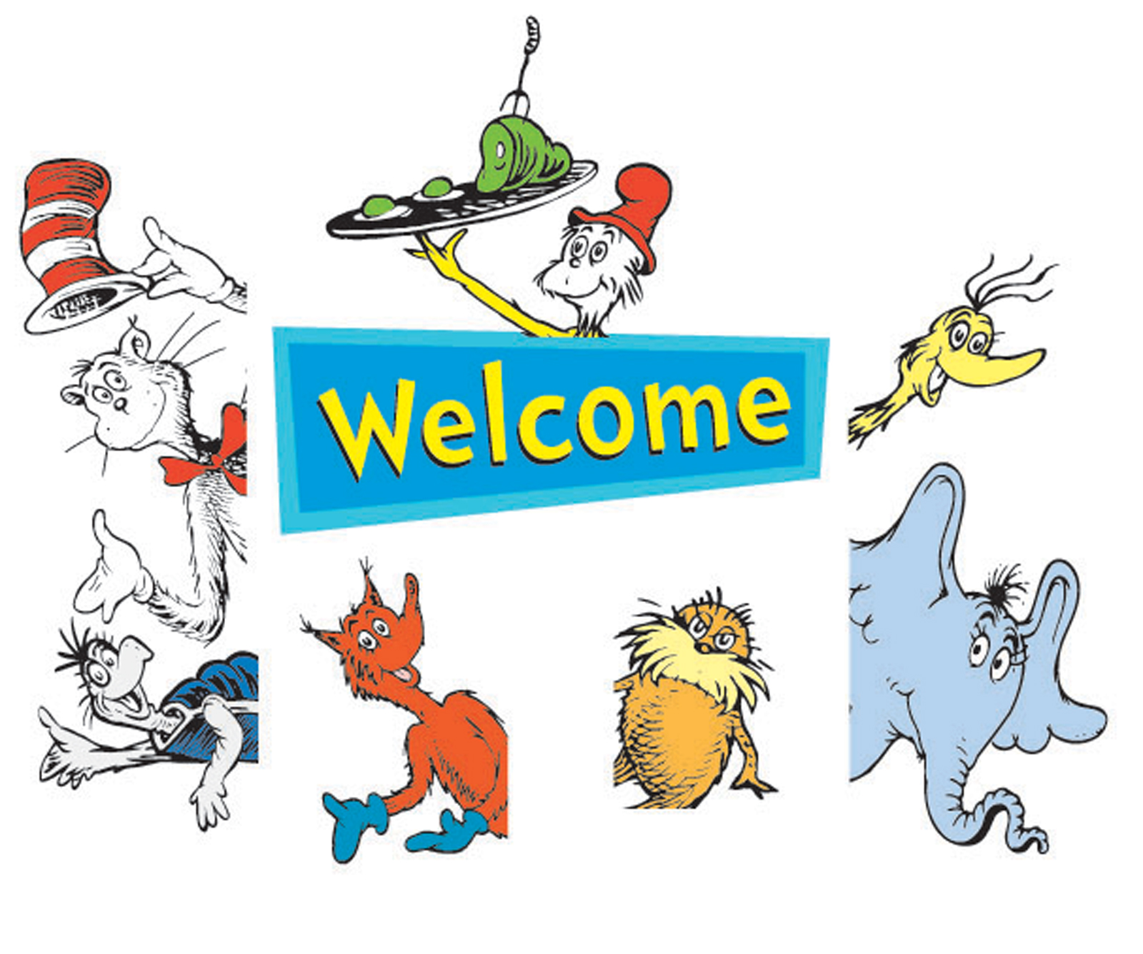 Images For > Dr Seuss Border