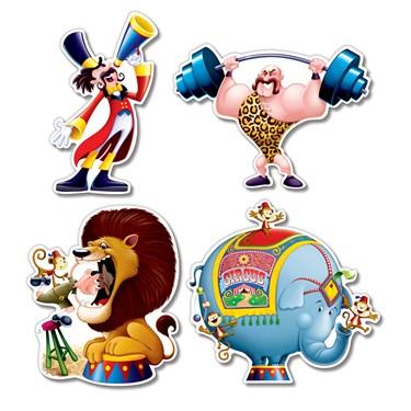 Circus Cutouts