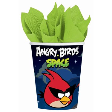 Angry Birds Space 9 oz. Paper Cups