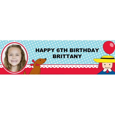Madeline Personalized Photo Vinyl Banner
