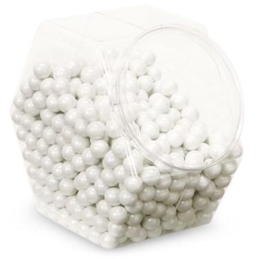 Shimmer White Sixlets Candy