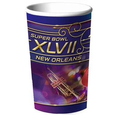 Super Bowl XLVII 22 oz. Plastic Cup