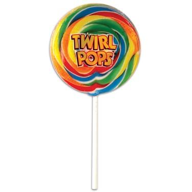 Rainbow Twirl Pop