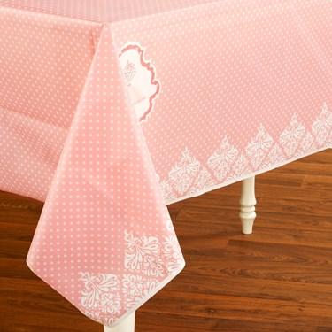 Ballerina Tutu Plastic Tablecover