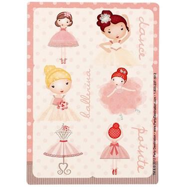 Ballerina Tutu Stickers