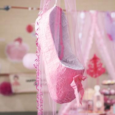Ballerina Tutu Pull-String Pinata