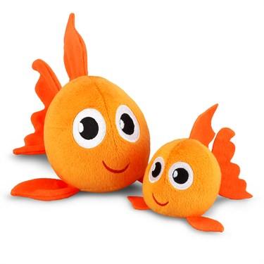 """Plush Goldfishes (4"""" and 6"""")"""