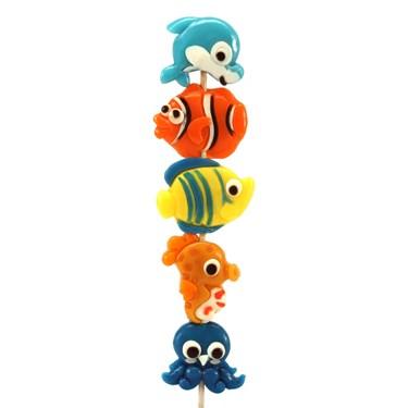 Ocean Life Gummy Candy Kabob