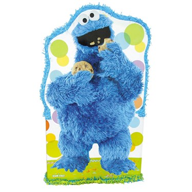 Cookie Monster Giant Pull-String Pinata