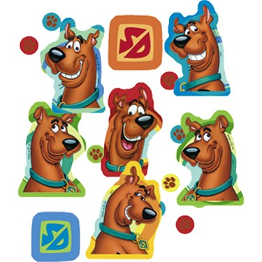 Scooby-Doo Mod Mystery Confetti
