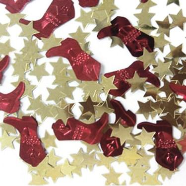 Boots and Stars Confetti