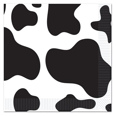 Cow Lunch Napkins