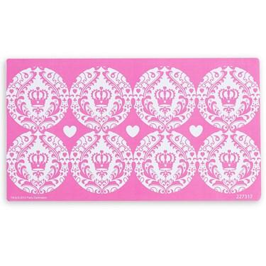 Elegant Princess Damask Small Lollipop Sticker Sheet