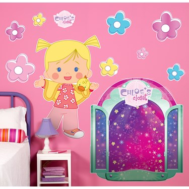 Chloe's Closet Giant Wall Decals