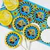 Construction Pals Deluxe Lollipop Favor Kit