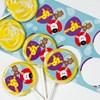 Safari Friends Large Lollipop Sticker Kit