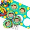 Mod Monkey Small Lollipop Sticker Kit