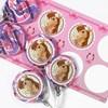Pink Cowgirl Small Lollipop Sticker Kit