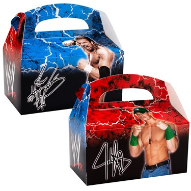 WWE Empty Favor Boxes